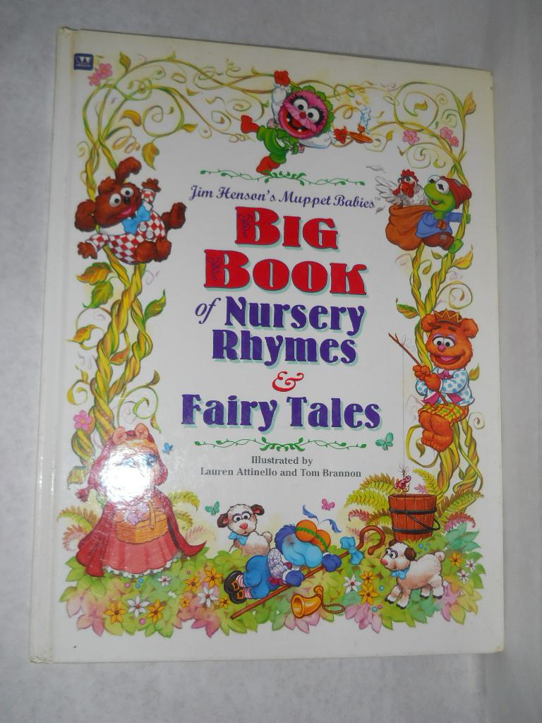Jim Henson S Muppet Babies Book Of Nursery Rhymes Fairy Tales Attinello Lauren