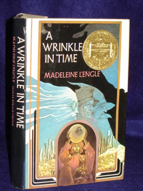 A Wrinkle in Time. SIGNED by author: L'Engle, Madeleine