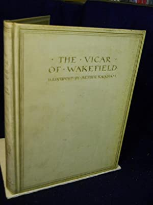 The Vicar of Wakefield. SIGNED by illustrator: Goldsmith, Oliver.