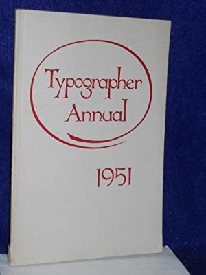 Typographer Annual 1951: Kainen, Jacob with Warre Chappell, et al.