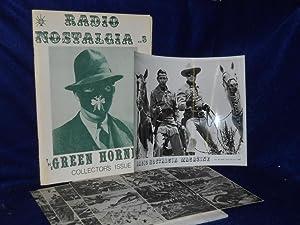 Radio Nostalgia No. 5: The Green Hornet Collector's Issue.: James, Virgil, editor