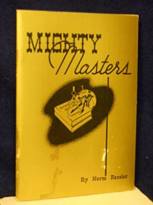 Mighty Masters: Ressler, Norm