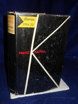 The Diaries of Franz Kafka 1914-1923: Brod, Max, editor/ Franz Kafka