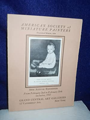 American Society of Miniature Painters: 38th Annual Exhibition: Jewell, E.A., preface