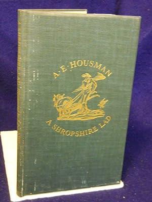 A Shropshire Lad: Housman, A.E.