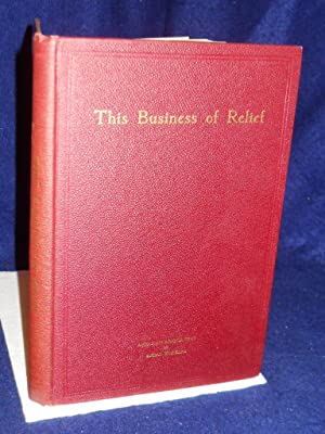 The Business of Relief: West, Walter, foreword