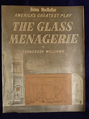 The Glass Menagerie [Souvenir booklet]: Williams, Tennessee
