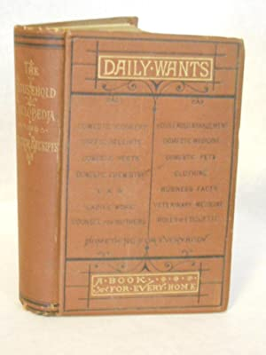 The Household Cyclopaedia of Practical Recipts and Daily Wants: Hamilton, Alexander V.