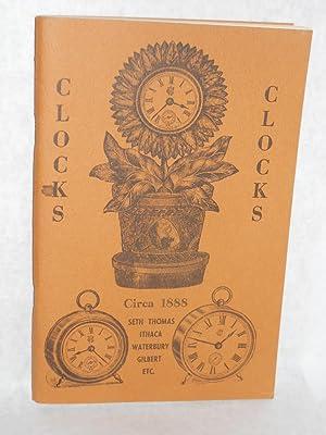 Clocks Circa 1888: Seth Thomas/ Ithace/ Waterbury/: Collector's Weekly
