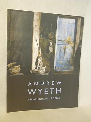 Andrew Wyeth, an American Legend.: Setford, David F.