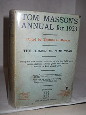 Tom Masson's Annual for 1923: Masson, Thomas L., editor