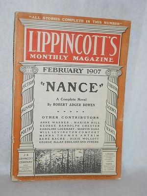 Lippincott's Monthly Magazine: February 1907: J.B. Lippincott, editors of