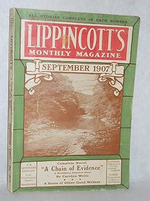 Lippincott's Monthly Magazine: September 1907, No. 477: J.B. Lippincott, editors of
