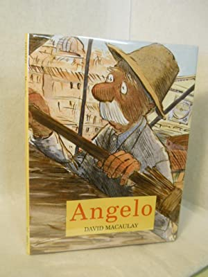 Angelo. SIGNED by author: Macaulay, David