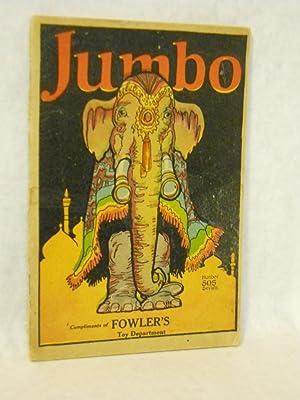 Jumbo Book: Verses: Goldsmith, M. A.