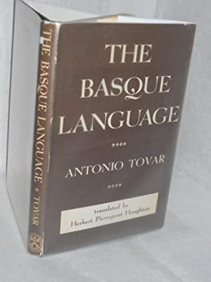 The Basque Language: Tovar, Antonio