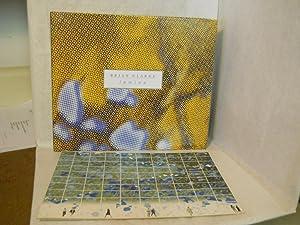 Brian Clarke, Lamina: London 2005. With SIGNED invitation: Harrison, Martin