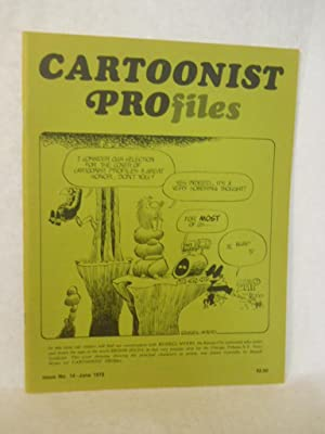 Cartoonist Profiles. Volume 1, Number 14: June 1972: Hurd, Jud, editor