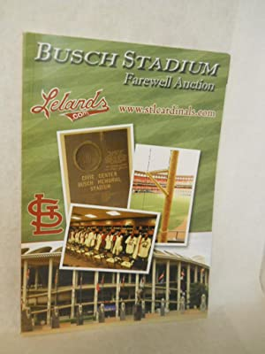 Busch Stadium Farewell Auction: Lelands Sports &