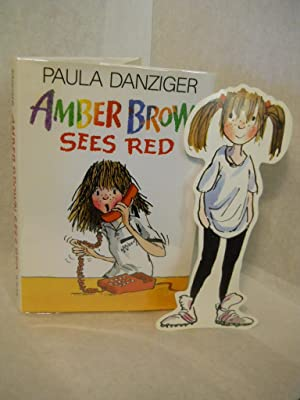 Amber Brown Sees Red. SIGNED by author: Danziger, Paula.