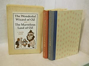 The Wonderful Wizard of Oz [and] The Marvelous Land of Oz: Baum, L. Frank.