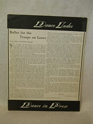 Dance Index, a new magazine devoted to dancing. Vol I, No 7, July 1942: Hastings, Baird with Paul ...