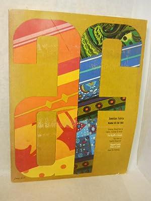 American Fabrics. Number 65, Fall 1964 [magazine]: Carlyle, Cora, editor