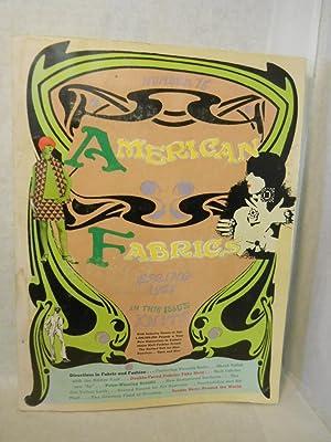 American Fabrics. Number 75, Spring 1967 [magazine]: Carlyle, Cora, editor