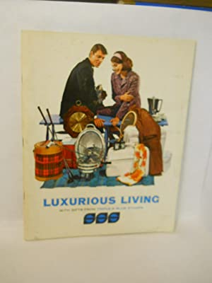 Luxurious Living with Gifts from Triple-S Blue Stamps. Catalog No. 10: Stop and Save Trading Stamp ...
