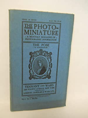 The Photo-miniature: a monthly magazine of photographic: Tennant, John A.,