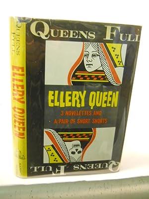Queen's Full: 3 Novelets and a Pair: Queen, Ellery.