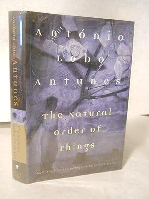 The Natural Order of Things: Antunes, Antonio Lobo.