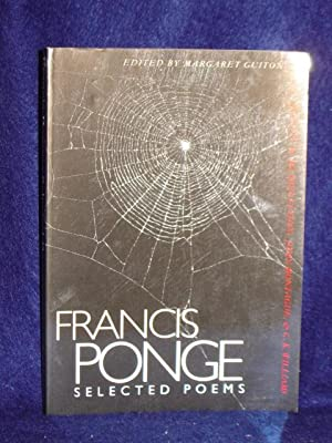 Selected Poems: Ponge, Francis