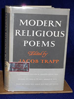 Modern Religious Poems: a contemporary anthology: Trapp, Jacob, editor