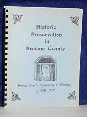 Historic Preservation in Broome County: Broome County Department of Planning