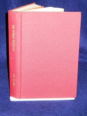 The Bureau Specialist. Silver Jubilee Year. Vol. 26, 1955: Bryant, R.A., editor