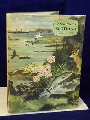 Looking at Scotland (Looking at Geography Series): Wright, John M.