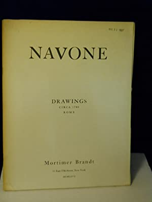 Navone: Drawings Circa 1780 Rome