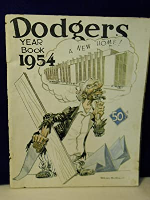 Dodgers Year Book 1954: Graham, Frank, Jr. & Allan Roth, editors