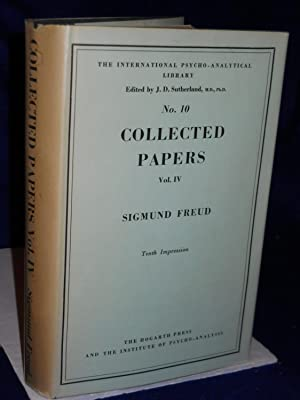 Collected Papers. Volume IV: Freud, Sigmund