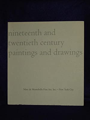 Nineteenth and Twentieth Century Paintings and Drawings: de Montebello, Marc