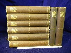 Works of Washington Irving. Knickerbocker Edition. 8 VOLUMES: Irving, Washington