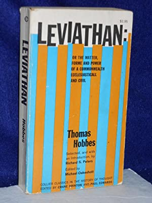Leviathan or The Matter, Forme and Power: Hobbes, Thomas