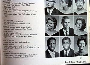 Jacksonville High School 1961 Yearbook Crimson J Boxer Ken Norton: Jacksonville High School