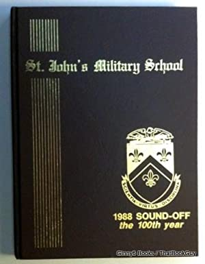 St. John's Military School 1988 Sound-Off Yearbook (Original)
