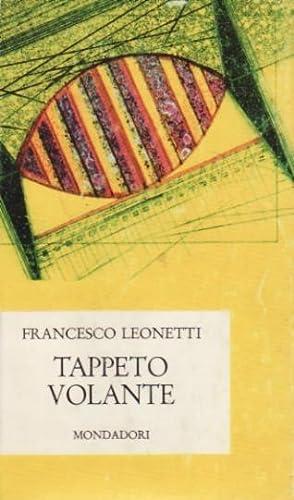 Tappeto volante: Leonetti, Francesco