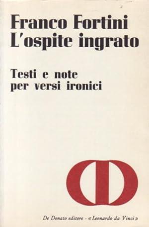 L'ospite ingrato: Fortini, Franco