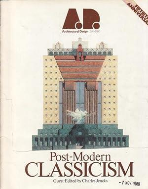 A.D. Architectural Design. Post-Modern Classicism.: AA.VV.