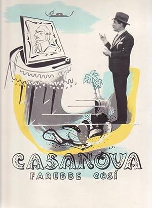Casanova farebbe così.: Prampolini, Enrico.