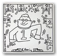 K. Haring 1985 (Coloring Book): Haring, Keith